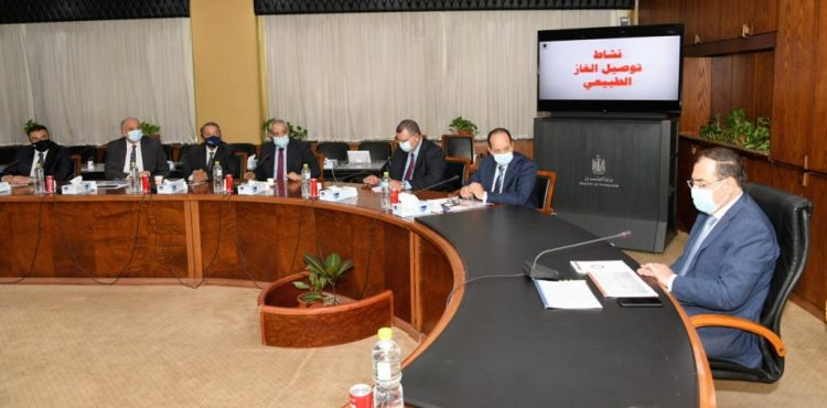 Egypt Plans to Connect Natural Gas to 1.2 M Houses in FY2021/22: El Molla