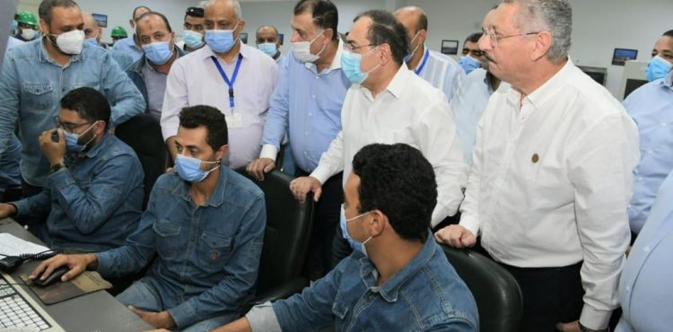 El Molla Inspects Midor Refinery, MIDTAP Platform in Alexandria