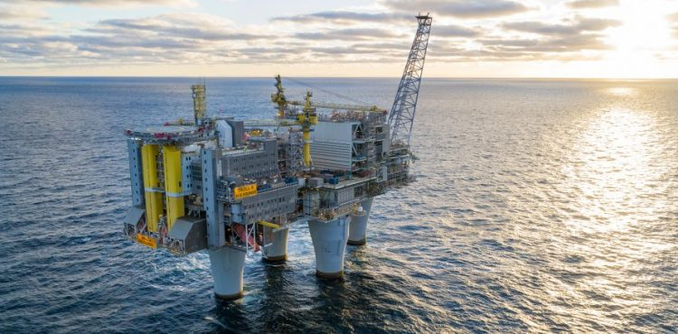 Equinor Starts Production from Troll Pahse3 Project