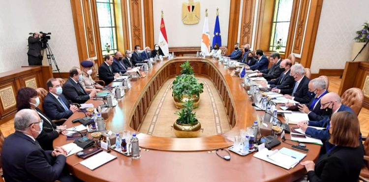 Sisi, Anastasiades Highlight Importance of Expediting Work on Gas Pipeline