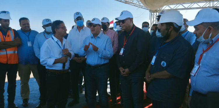 El Molla Lays Foundation Stone for GPC's Integrated Plant