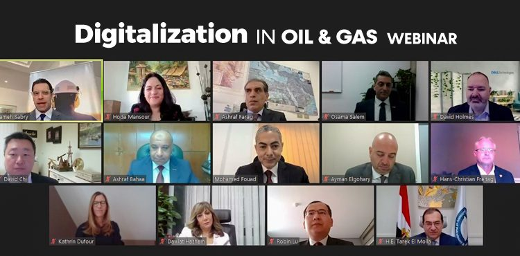 Business Leaders Discuss Industry's Future at 'Digitalization in Oil and Gas' Webinar