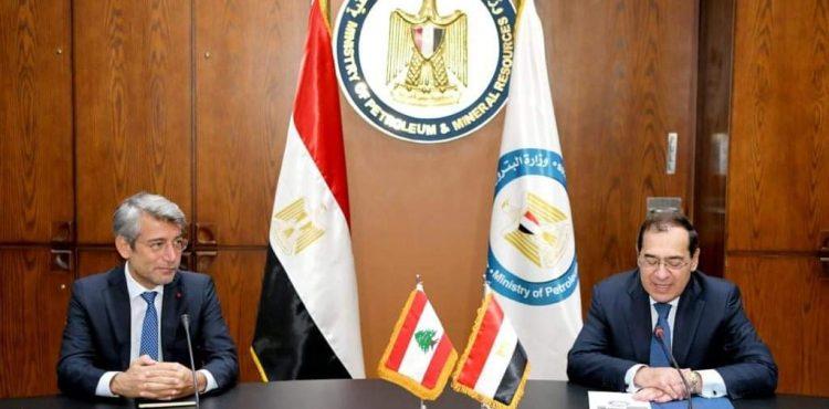 Egypt, Lebanon Hold Bilateral Talks on Natural Gas Supplies