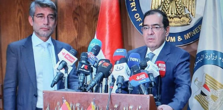 Egypt to Finalize Procedures of Gas Delivery to Lebanon within Weeks